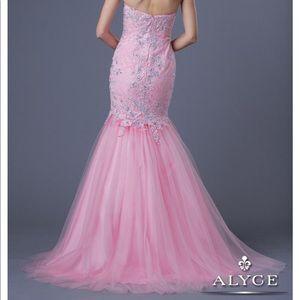 Pink Alyce Paris Prom Dress